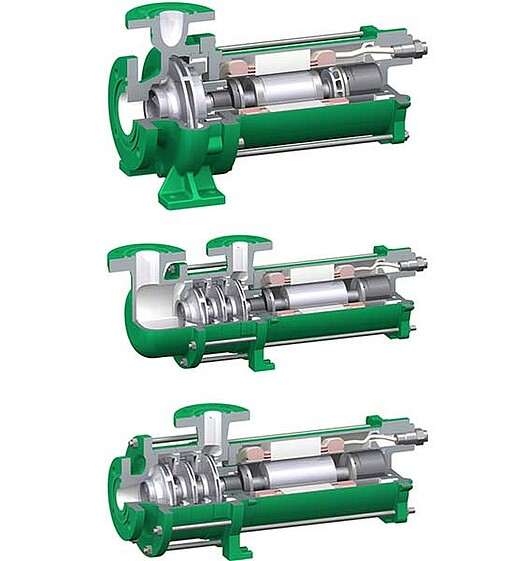 hermeticlly pumps for refrigeration